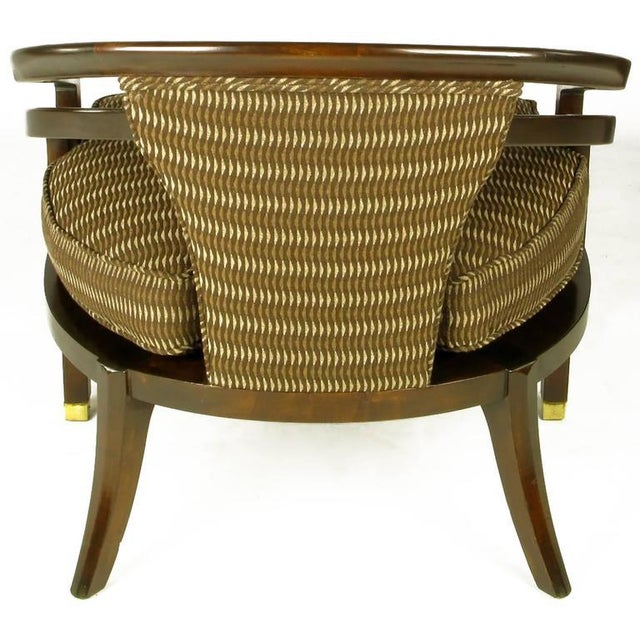 Pair of Elegant 1960s Club Chairs by Century For Sale In Chicago - Image 6 of 9
