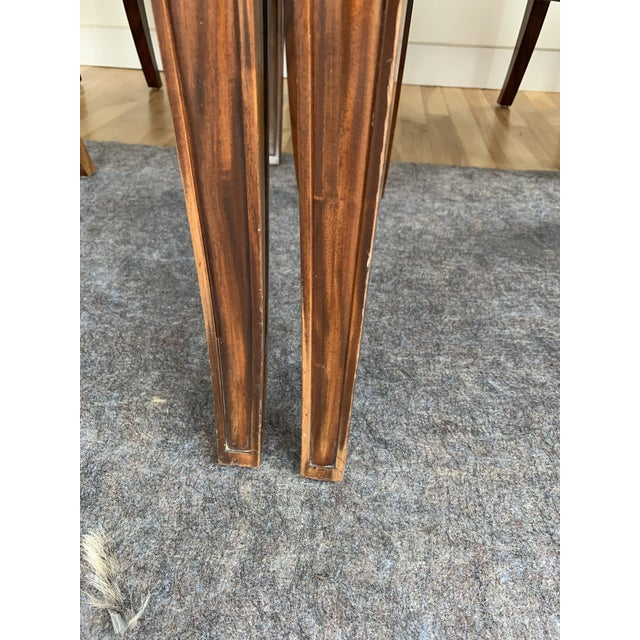 Brown Dining Chairs- Set of 8 For Sale In New York - Image 6 of 13