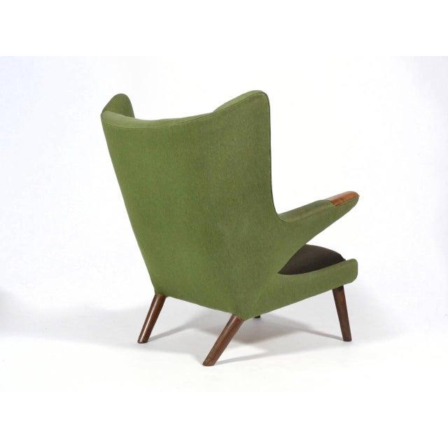 Wood Hans Wegner Papa Bear Chair For Sale - Image 7 of 11