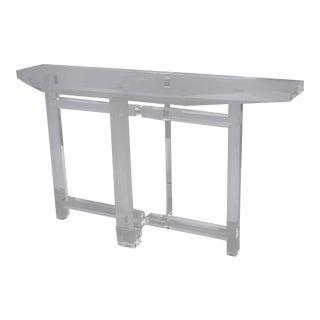 Console Table by Les Prismatiques For Sale