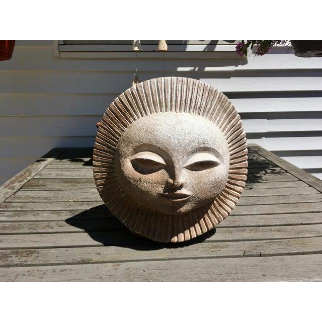 Austin Productions Inc Sun God Face Statue.Paul Bellardo For Sale In Cleveland - Image 6 of 10