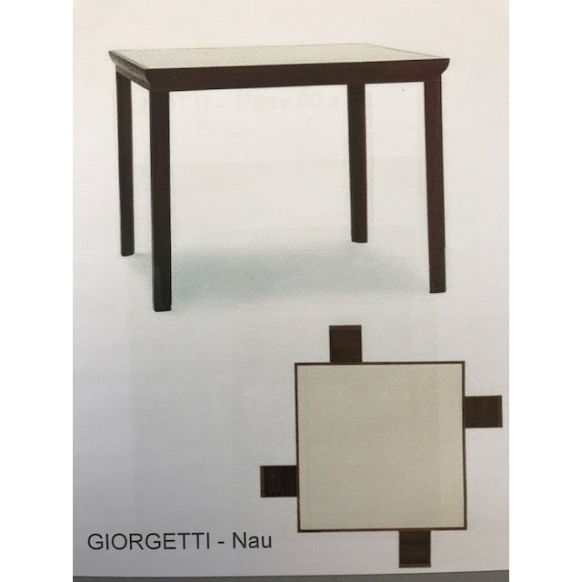 Suede Top Giorgetti Card Table - Image 3 of 3