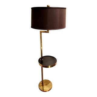 Rare Bronze Floor Lamp by Hart Associates For Sale