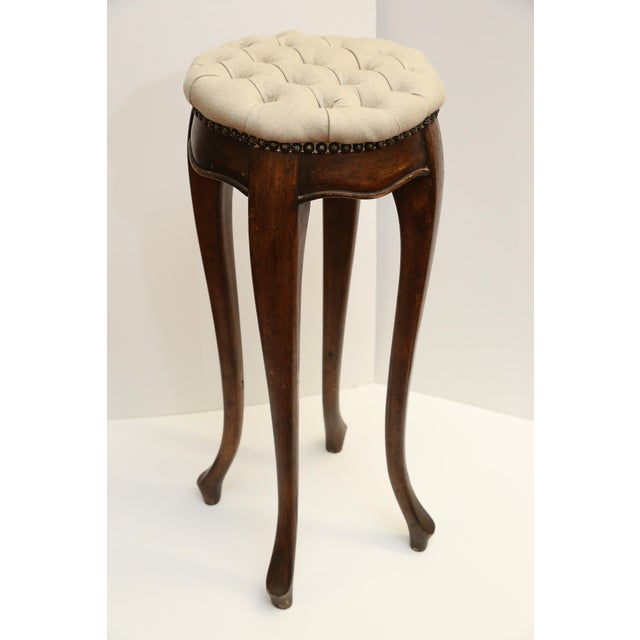 Country French Pedestal Stool - Image 2 of 4