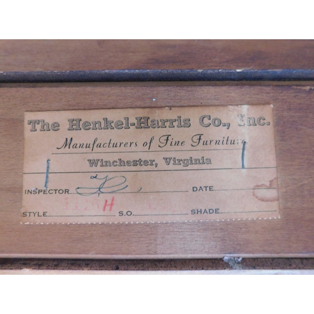 Chippendale Henkel Harris Chippendale Style Pine 9 Pane Corner Cabinet For Sale - Image 3 of 13