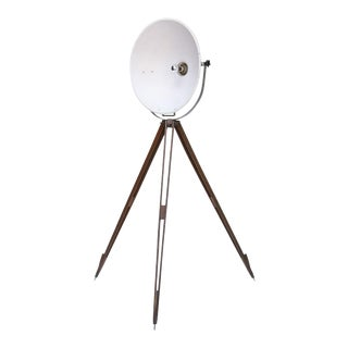 Industrial Tripod Floor Lamp For Sale