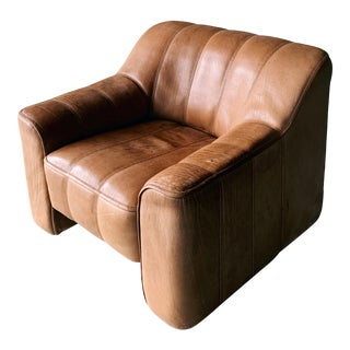 De Sede Ds44 Leather Chair For Sale