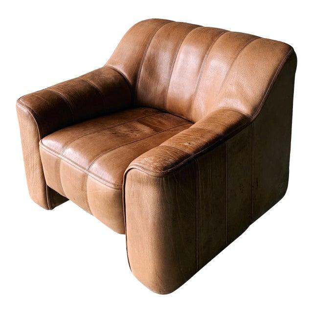 De Sede Ds44 Leather Chair For Sale