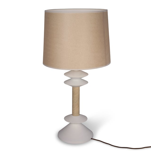Jay Spectre Disc Elements Table Lamp - Image 3 of 6