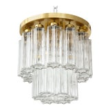 Image of 1960s Doria Brass Flush Mount For Sale