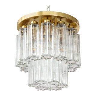 1960s Doria Brass Flush Mount For Sale