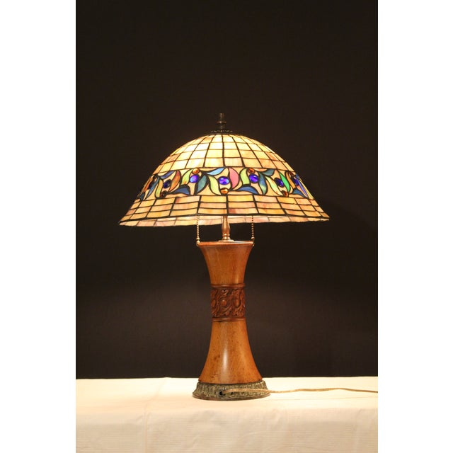 1930s 1930s Arts and Crafts Style Table Lamp For Sale - Image 5 of 9