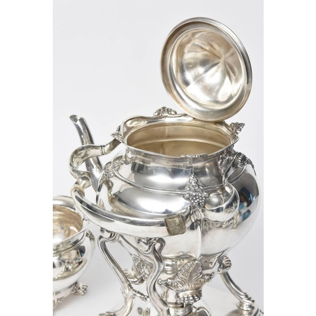 1899 Antique Victorian Tiffany & Co Sterling Tea Coffee Set - 7 Pieces For Sale In Miami - Image 6 of 10