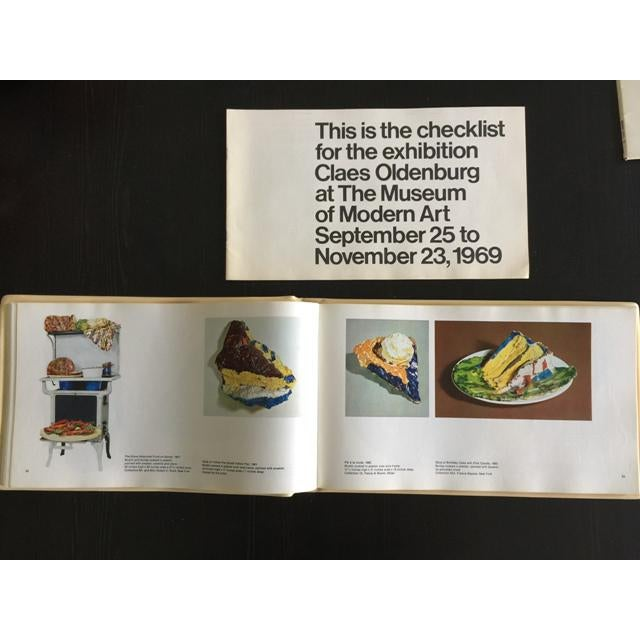 "1969 Claes Oldenburg ""Soft Sculpture"" Exhibition Catalog - Image 7 of 11"