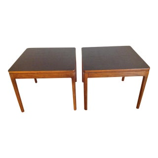 Drexel Declaration Mid-Century Side Tables- A Pair For Sale