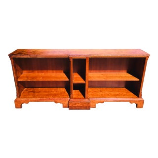 Milling Road for the Baker Furniture Company Georgian Classical Bookcase For Sale