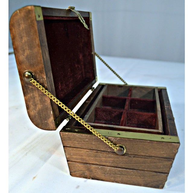 Japanese Wooden Jewelry Box - Image 7 of 10