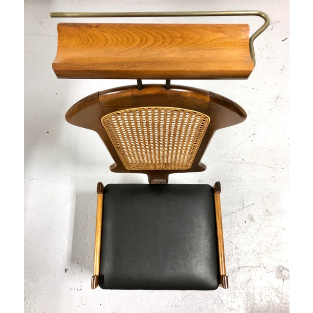 Mid 20th Century Mid Century Italian Modern Men's Valet Chair For Sale - Image 5 of 11
