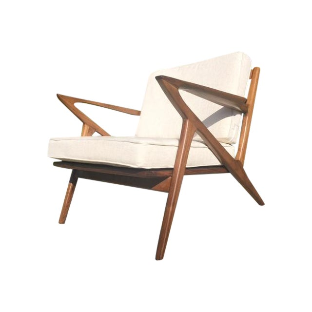 """Mid-Century Modern Style """"Z"""" Chair - Image 1 of 5"""