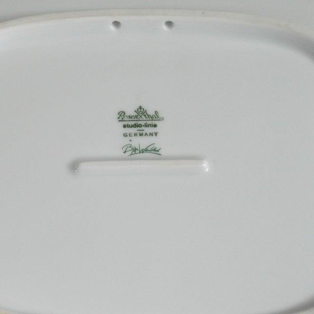Large Rosenthal Studio Line Bjorn Wiinblad Plate - Image 5 of 5
