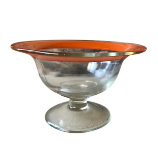 Glass Compote Candy Dish For Sale