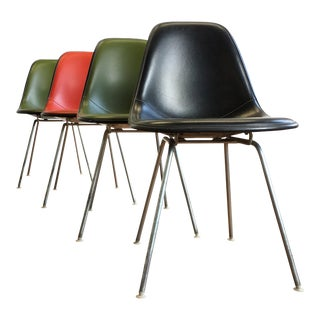 Vintage Herman Miller Eames Shell Chairs - Set of 4