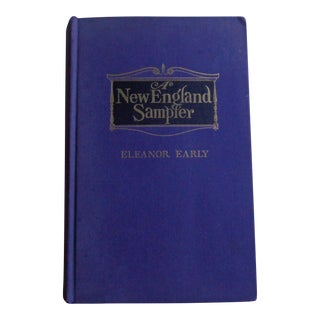 "Vintage 1940s ""New England Sampler"" Book, Signed For Sale"