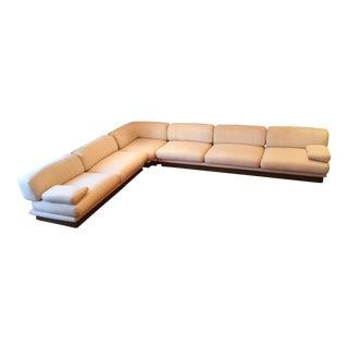 1980s Italian Sofa Saporiti Multi Sectional For Sale