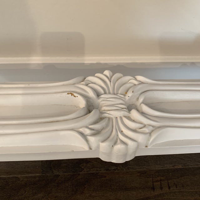 Traditional Mid Century Regency Serge Roche Console Table For Sale - Image 3 of 12