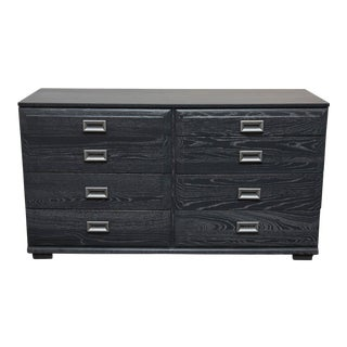 Raymond Loewy for Mengel Furniture Cerused Low Dresser For Sale