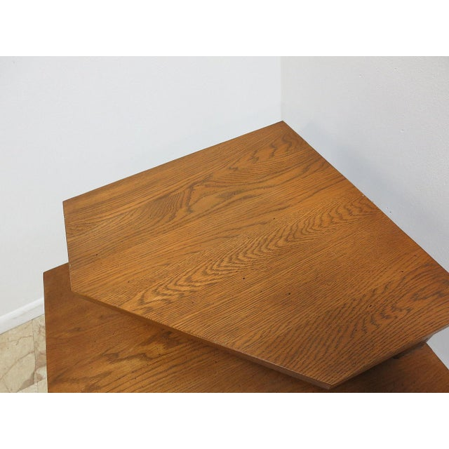 Brandt Ranch Oak End Table For Sale In Philadelphia - Image 6 of 11