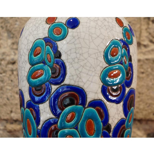 1920s 1920s Charles Catteau Vase For Sale - Image 5 of 8