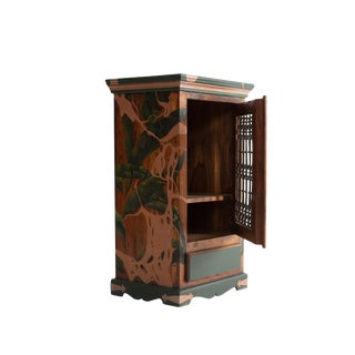 Strangled, Hand-Painted Cabinet by Atelier Miru For Sale