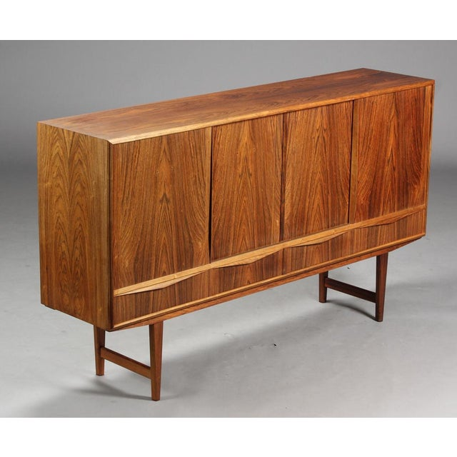 Danish Modern 1950s Danish Modern Ew Bach for Sejling Skabe Rosewood Sideboard For Sale - Image 3 of 11