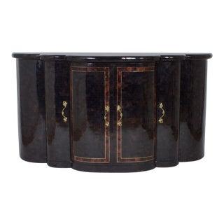 Vintage Penshell Sideboard or Cabinet For Sale