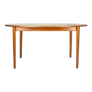 1960s Vintage Peter Hvidt Orla Molgaard-Nielsen Teak Dining Table For Sale