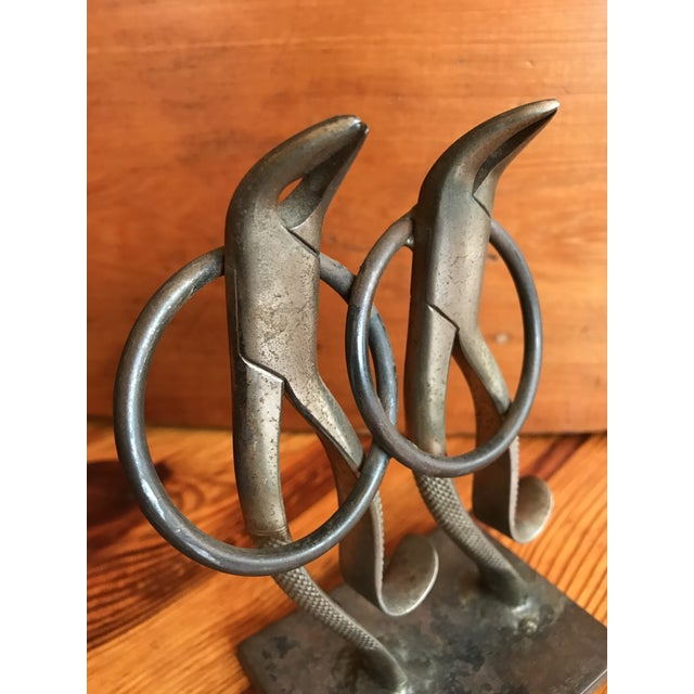 Mid 20th Century French Folk Art Dancing Pliers Sculpture For Sale - Image 5 of 11