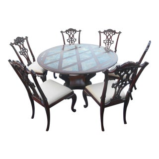 Maitland Smith Dining Set For Sale