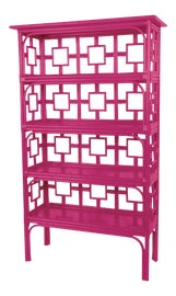 Image of Bright Pink Casegoods and Storage