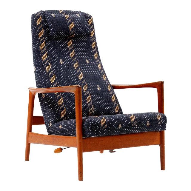 Phenomenal Scandinavian Modern Folke Ohlsson Duxiesta Lounge Chair Machost Co Dining Chair Design Ideas Machostcouk