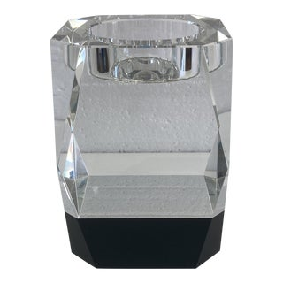 Crystal Geometric Candle Holder For Sale