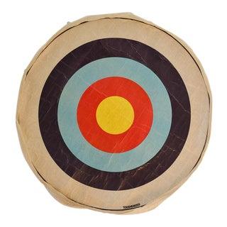 Vintage Archery Target Bullseye Face For Sale