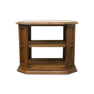20th Century Traditional Ethan Allen Classic Manor Book End Table For Sale