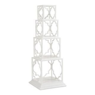 Quadro Etagere, White For Sale