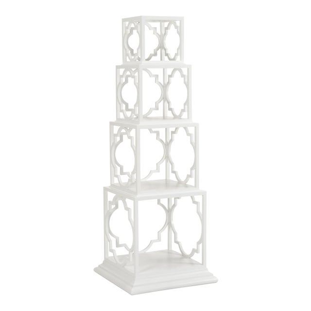 Quadro Etagere, White For Sale