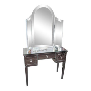 Custom Mirrored Vanity For Sale