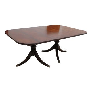 Ethan Allen Mahogany Newport Duncan Phyfe Dining Room Banquet Table For Sale
