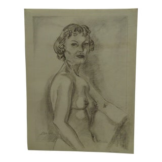 "Original Drawing Sketch ""Hello"" by Tom Sturges Jr., 1950"