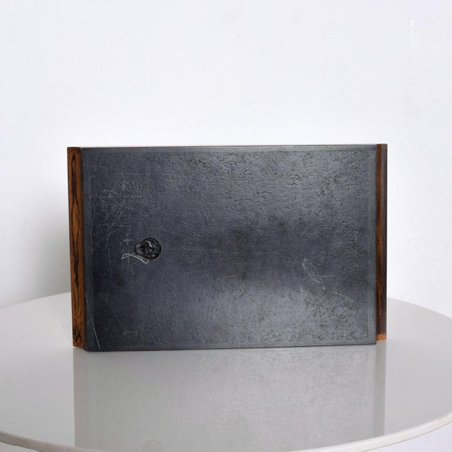 Mid-Century Modern Don Shoemaker Mid Size Service Tray #7 Mid Century Mexican Modernist For Sale - Image 3 of 8