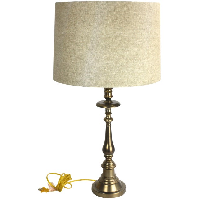 Stiffel Brass Candlestick Table Lamp - Image 2 of 7